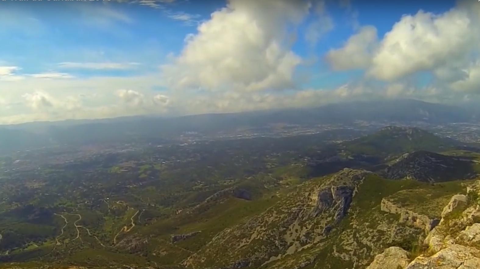 5-La vue du haut du Garlaban