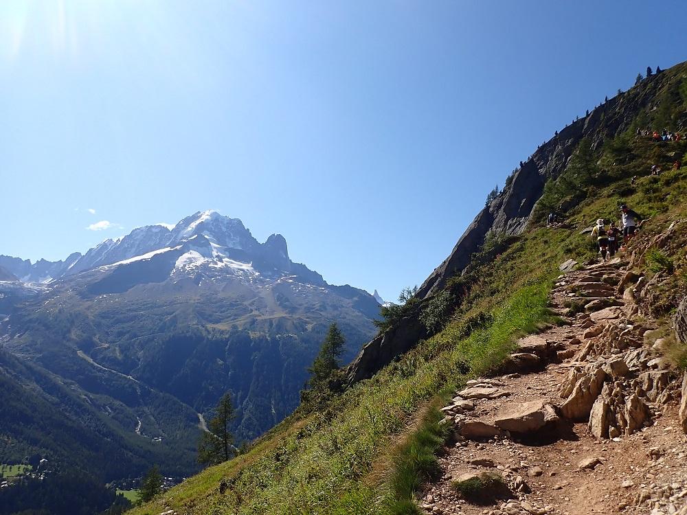 67-Le Mont Blanc est témoin de cette dernière (rude) montée..