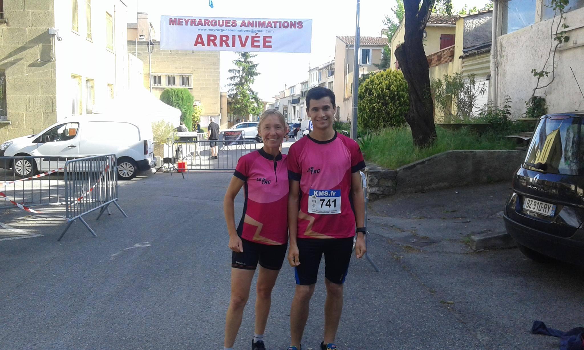 1-Agnès et Camille avant le départ