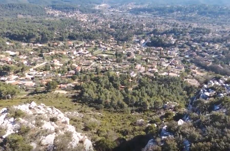 4-Vue sur le village de Belcodène