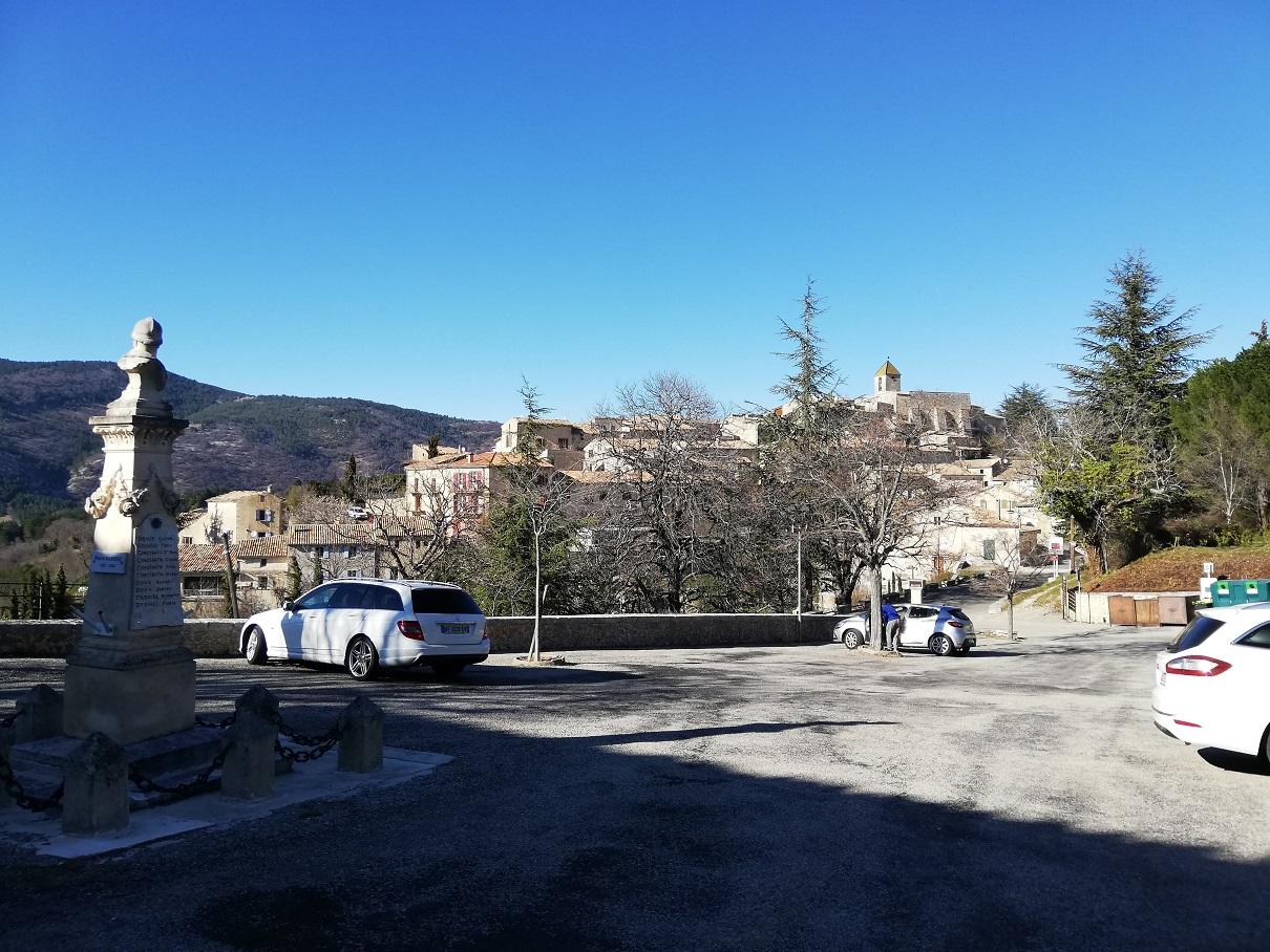 18-Arrivée à Aurel après 40kms