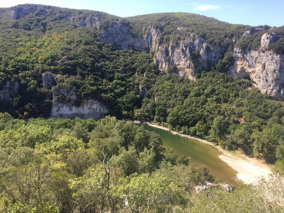 28-Les belles Gorges de l'Ardèche