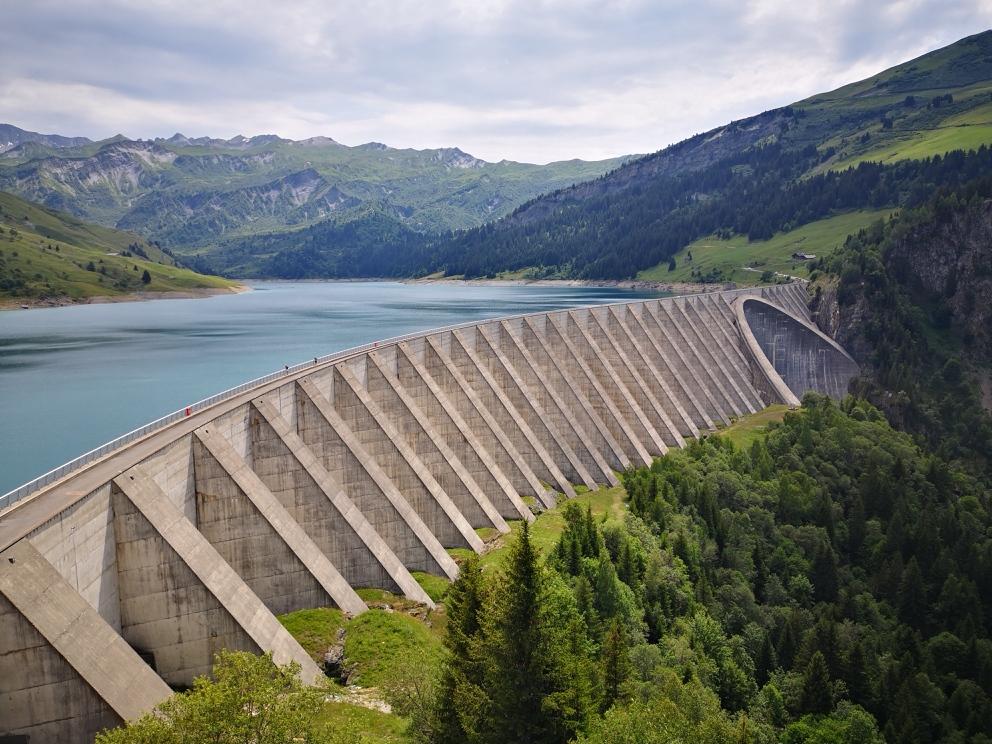 3-L'énorme barrage de Roselend