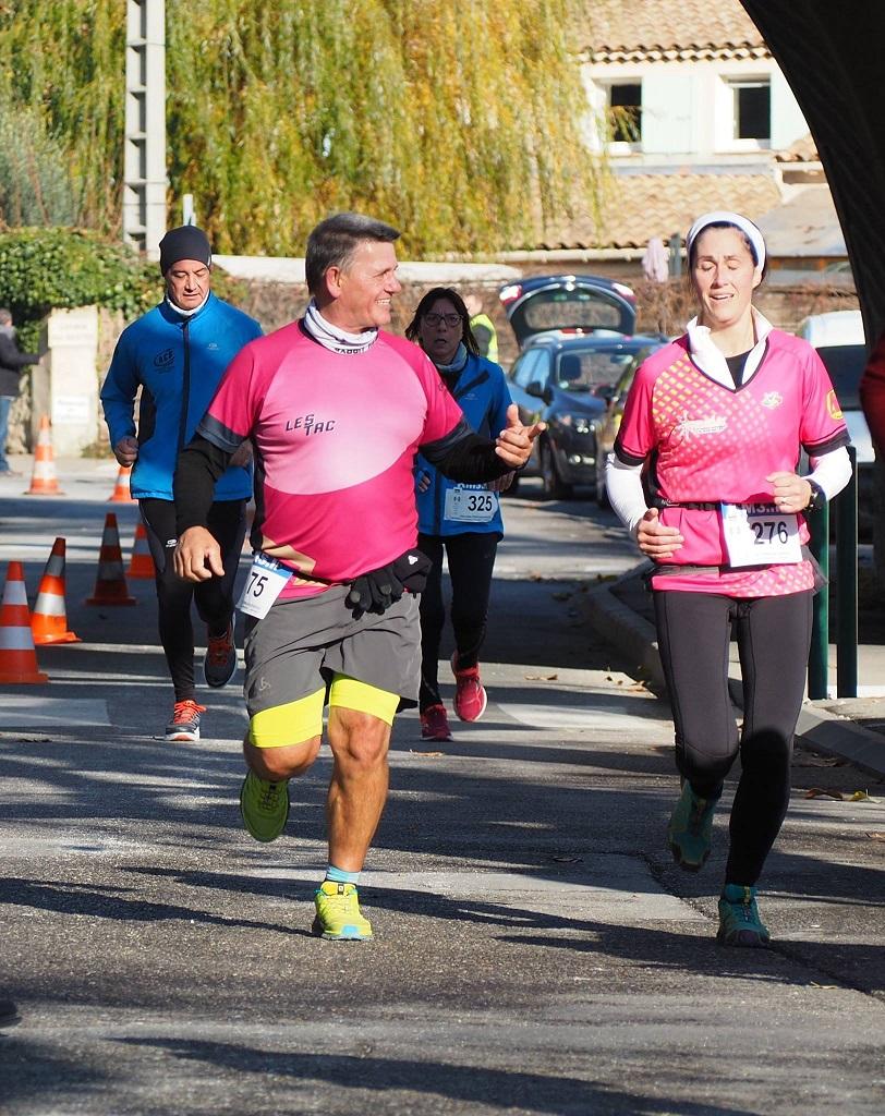 38-Marisol & Eric, 200m avant l'arrivée