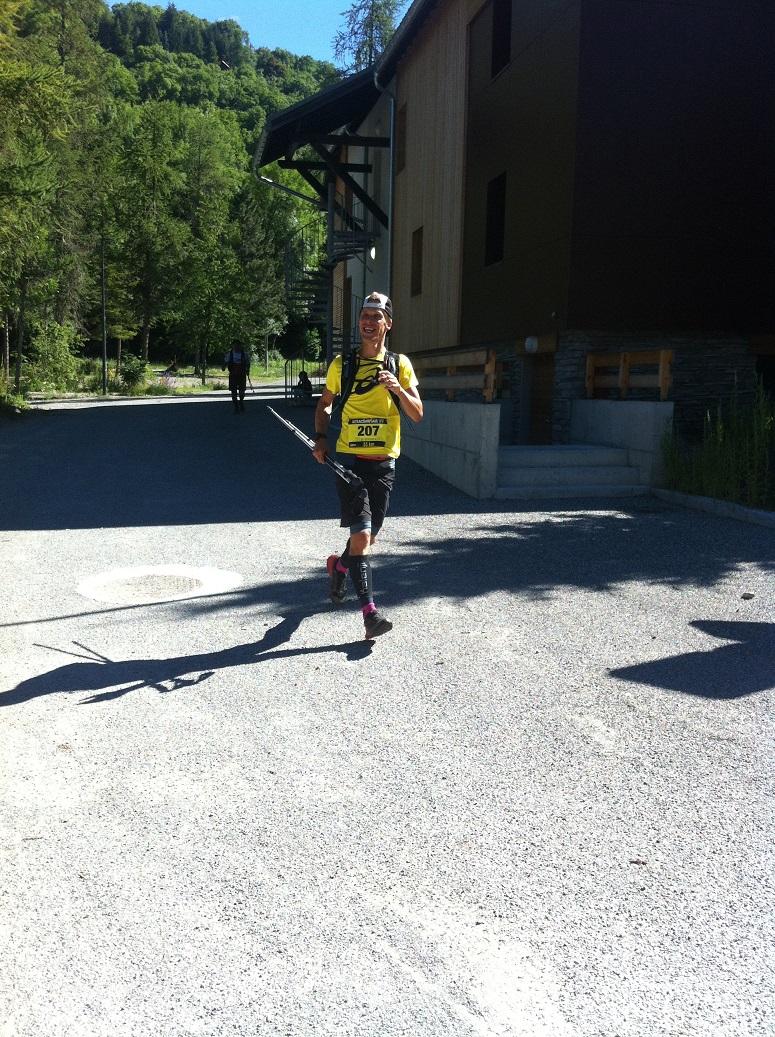 16-A mon tour de passer Orcières, après 29 km