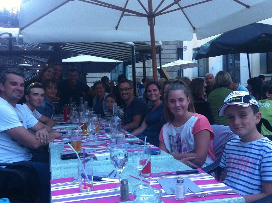 10-Big repas ensemble, veille de course
