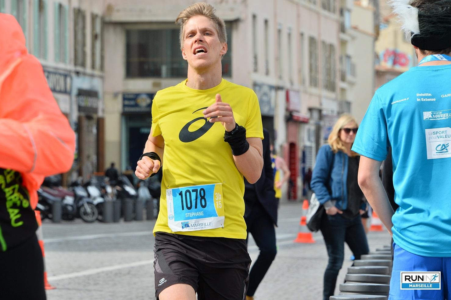16-Je sprinte sur le dernier km