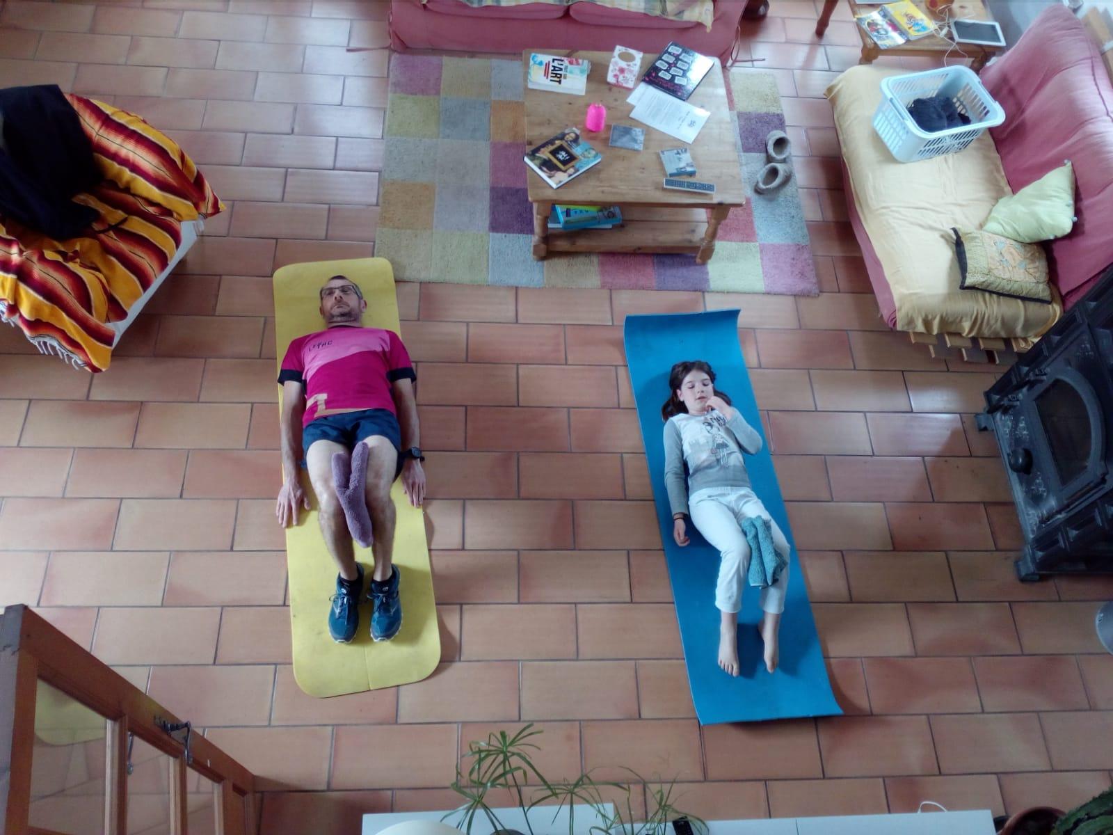 12-Sergio & sa fille en mode gainage aussi