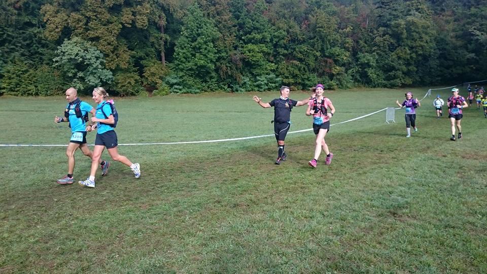 15-Et voici coach 'Rico aussi au 6ème km..
