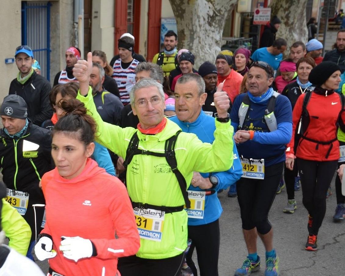 11-Départ en queue de peloton pour Flo', Franck & Christophe