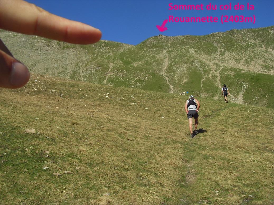 18-Direction le sommet du col de la Rouannette