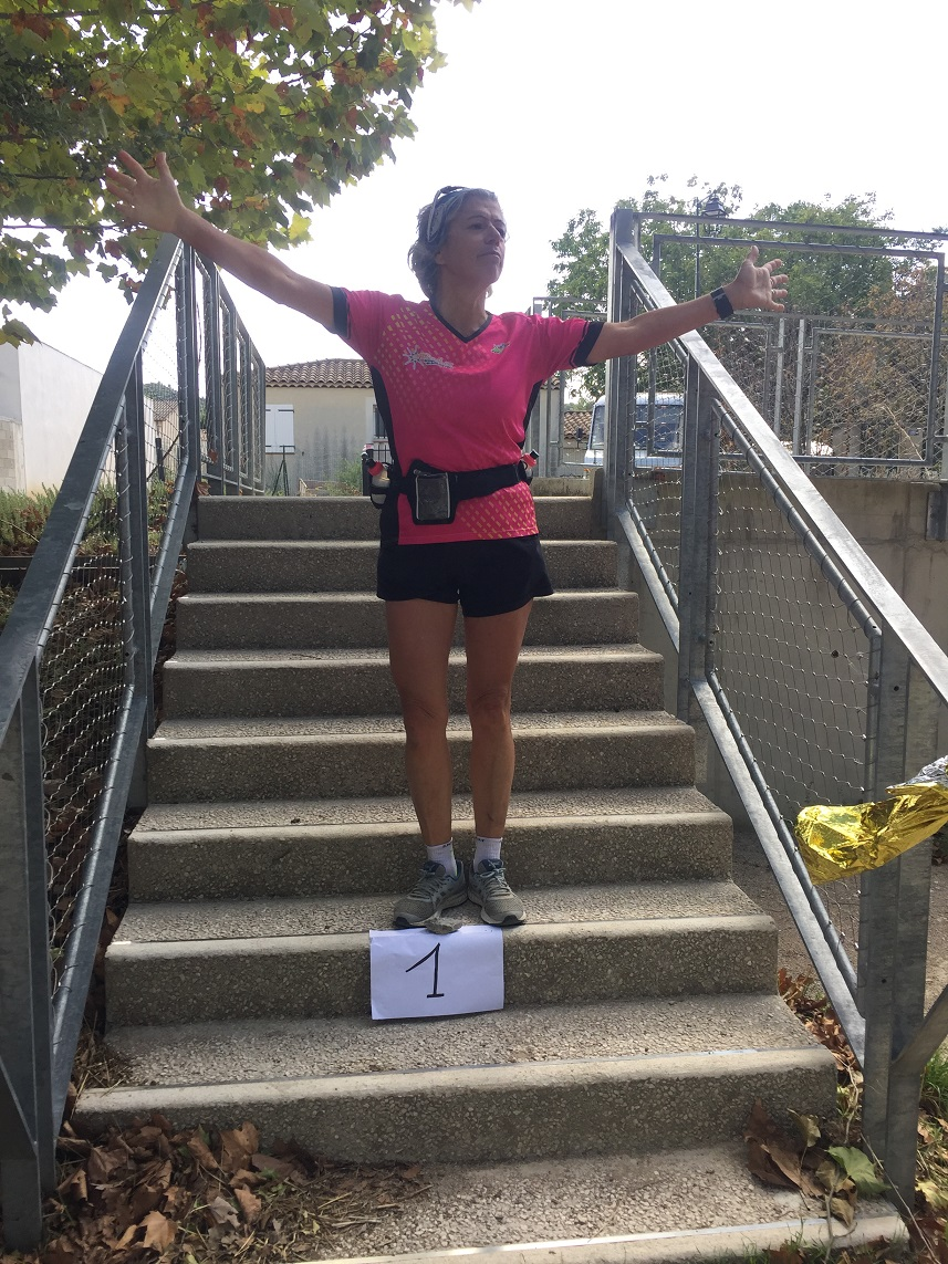 44-Place au podium pour Annick aussi, sans crampe