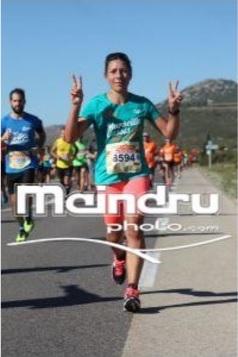 7-Sandrine en plein effort