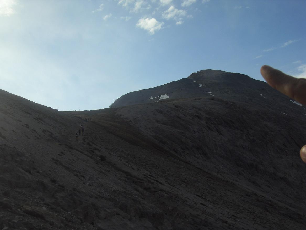 10-On le voit le sommet du Chaberton (3110m)