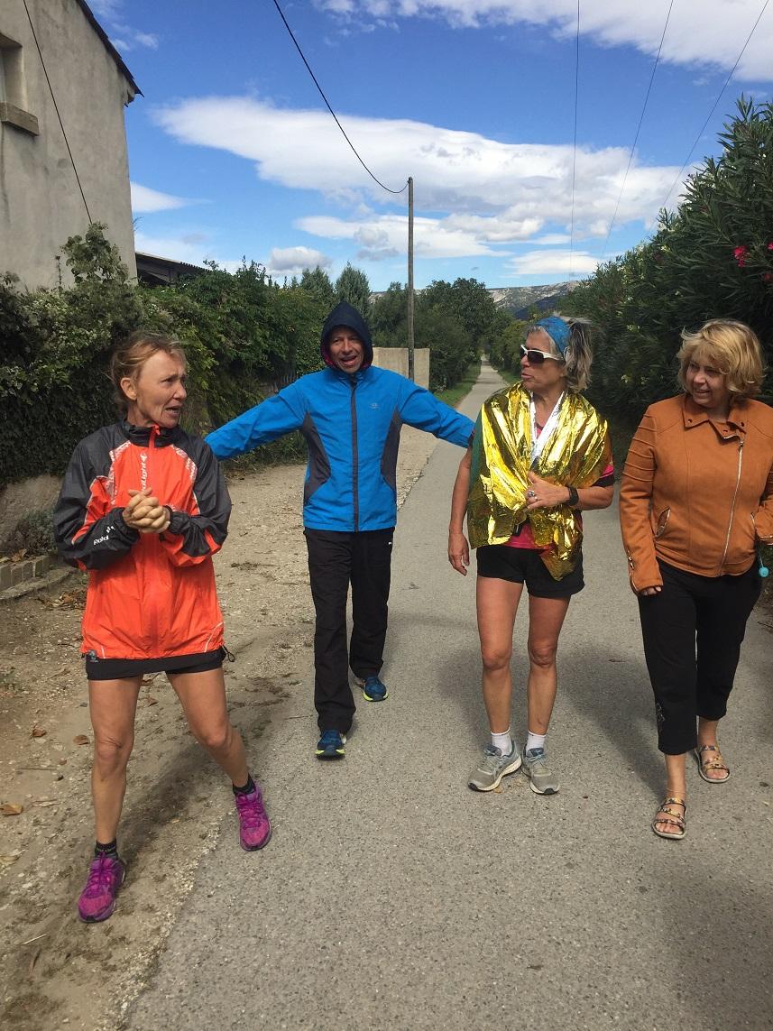 43-Nos 3 marathoniens se retrouvent