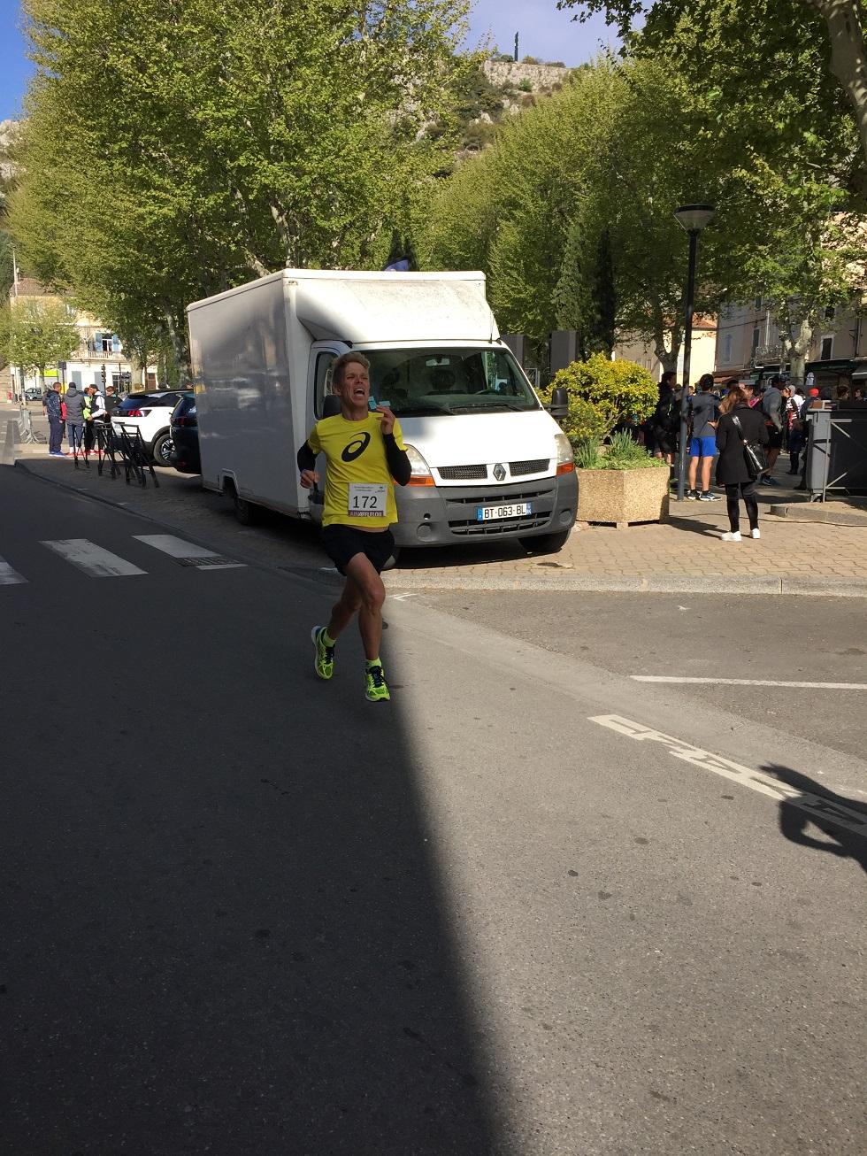 20-Sprint final pour Stef qui s'arrache pour améliorer son record perso