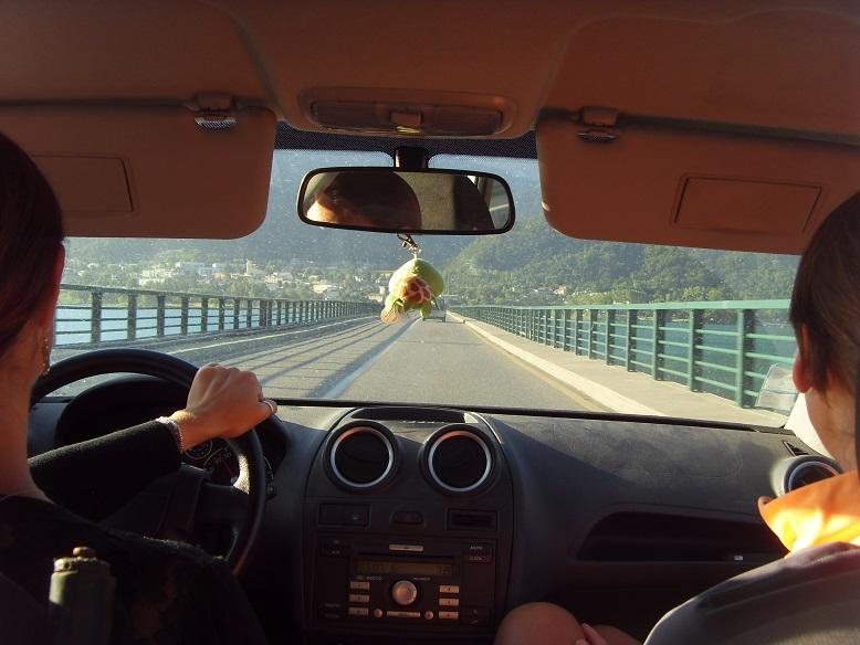 2-Arrivée matinale au lac de Serre-Ponçon