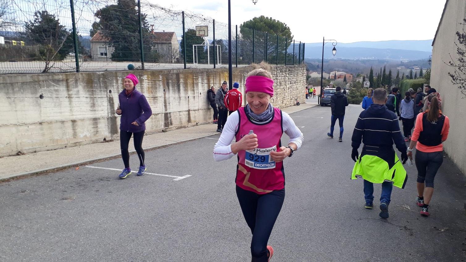 35-Et voici Agnès, 6ème féminine, en 2h30
