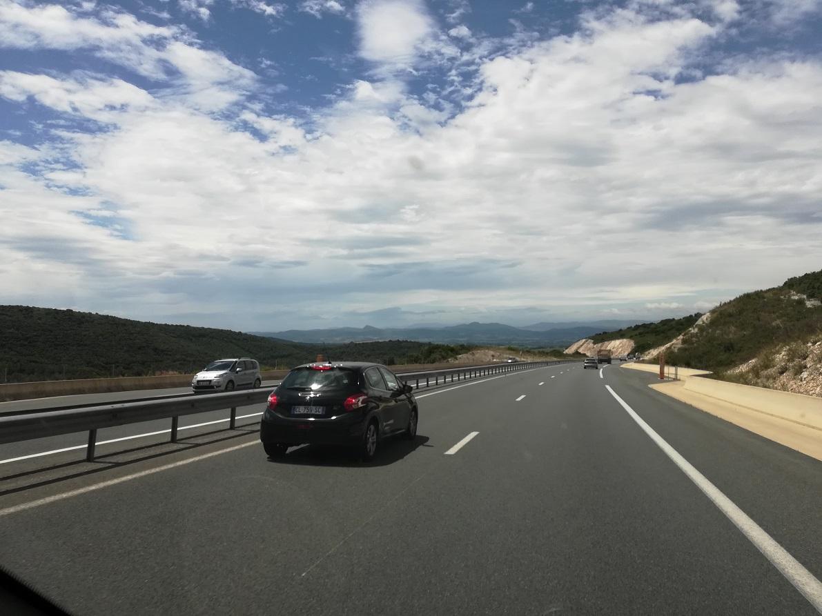 1-Un long trajet direction le Cantal