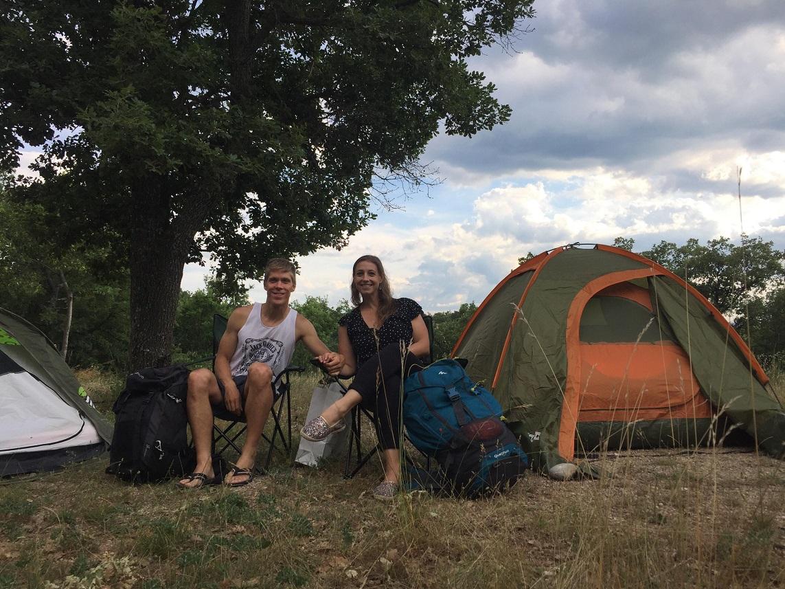 3-Notre camp de base pour quelques heures