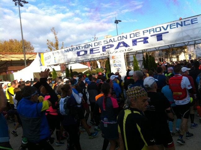 7-Et c'est parti pour l'unique édition du marathon de Salon