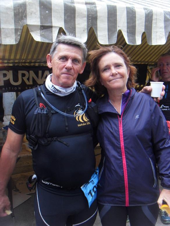 29-Bravo à Christelle son 1er gros trail, félicitations!