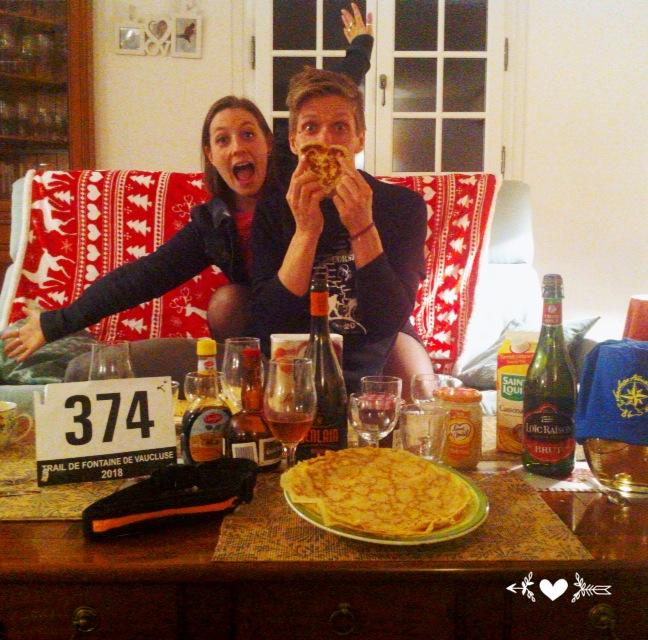38-Et c'est avec des crêpes que les Blondinets fêtent tout ça..