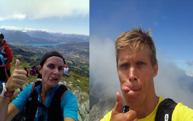 41-Une promesse de selfie, faite au sommet du Piolit. YEAH!