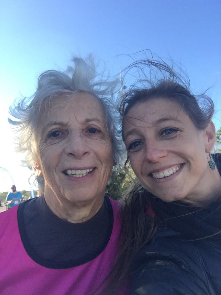 16- 4h24 de course: petit selfie pour les Miss