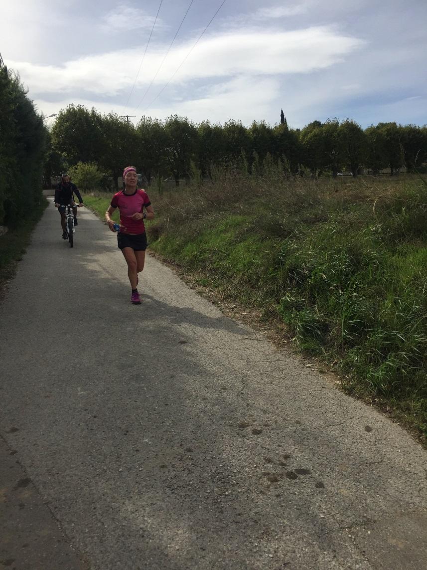 34-Et voici Agnès qui en finit aussi, un marathon à l'improviste