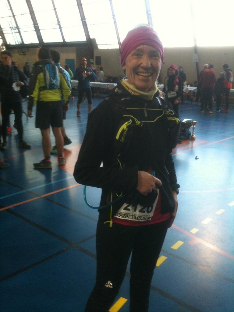 20-Bravo Agnès, tout sourire juste après son arrivée