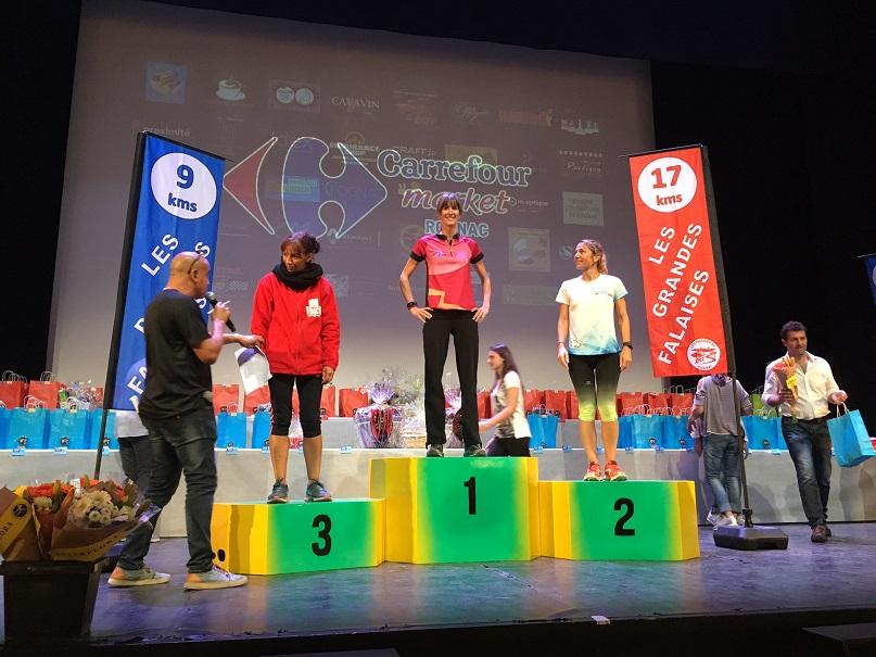 4-Et podium catégorie (1ère!) pour Laëtitia