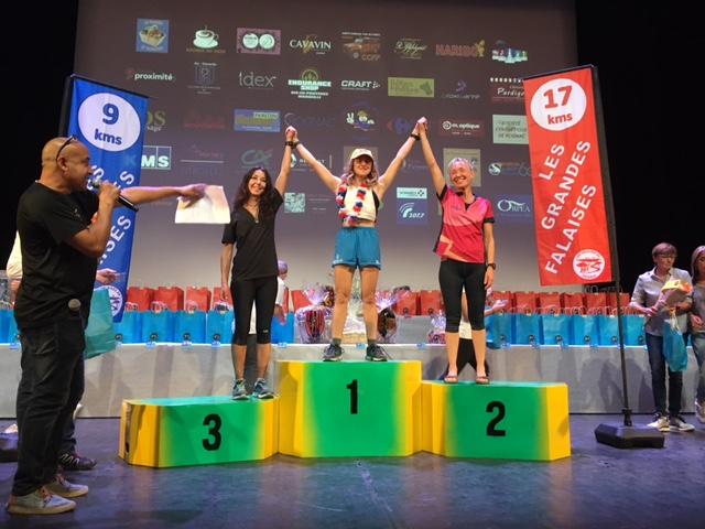 3-Encore un podium au scratch pour Agnès