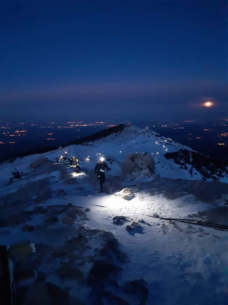 13-Le lever de soleil au sommet, c'est grandiose