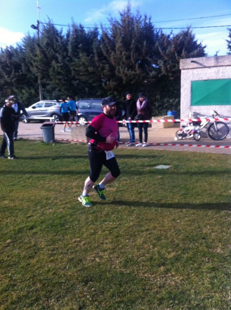15-Et voilà l'arrivée de marathon-man Cédric