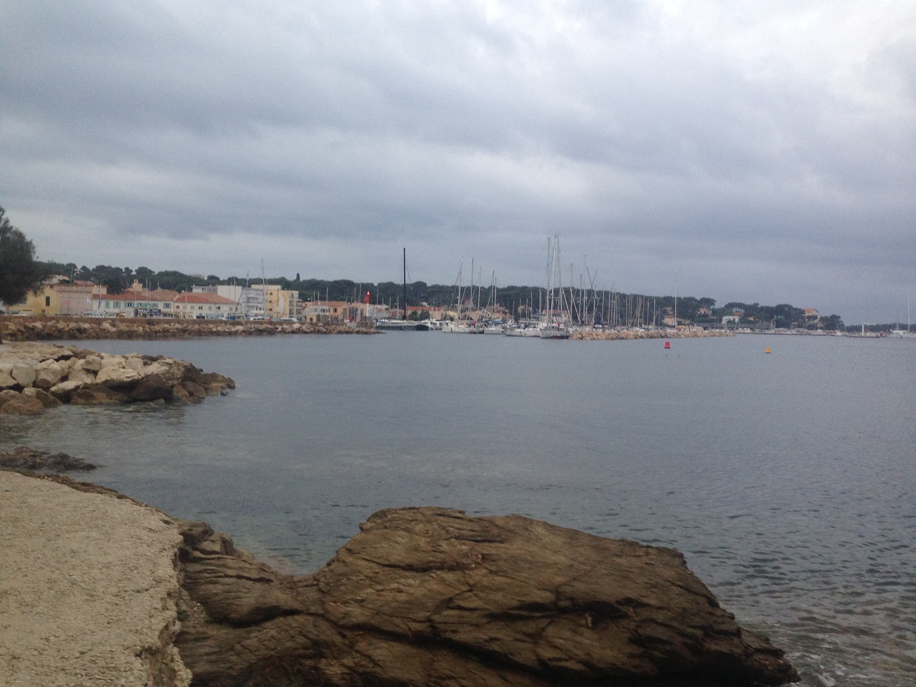 3-Le Port du Brusc, théatre des opérations