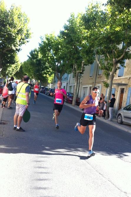 8-Et c'est parti (Stéphane après 400m)