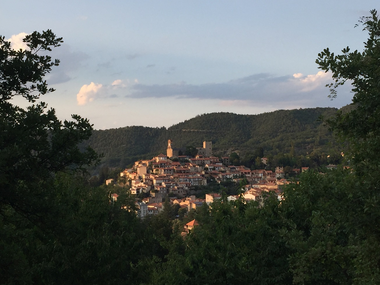 2-Le village pyrénéen de Vernet-les-Bains