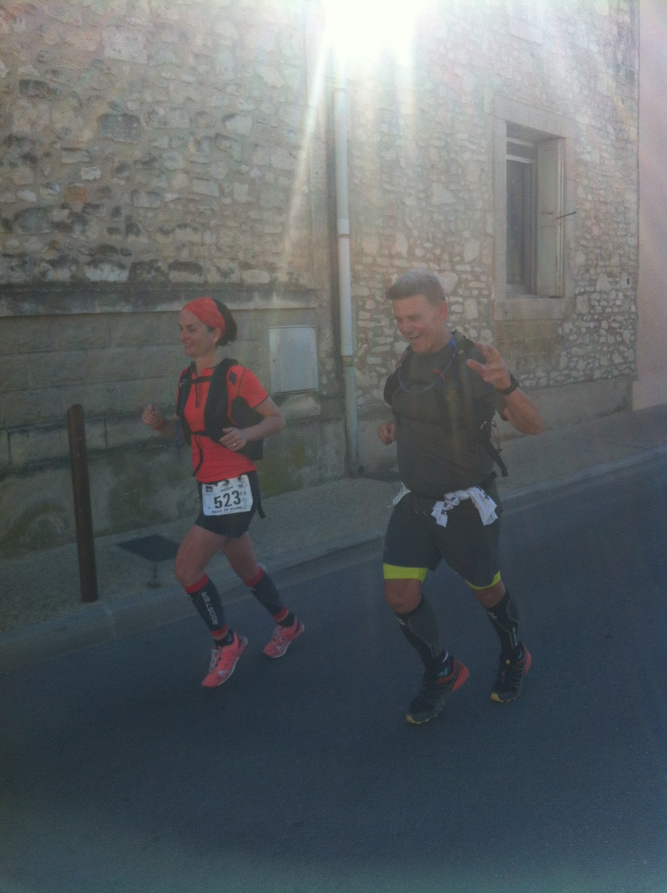 23-Bérengère et Eric, arrivée triomphale!