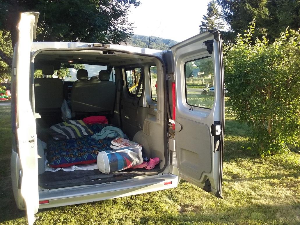4-La chambre à coucher d'Amélie pour la nuit d'avant-trail..