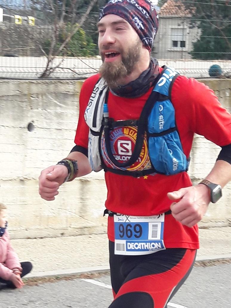 32-Voici celle de Denis, après 2h18 de course