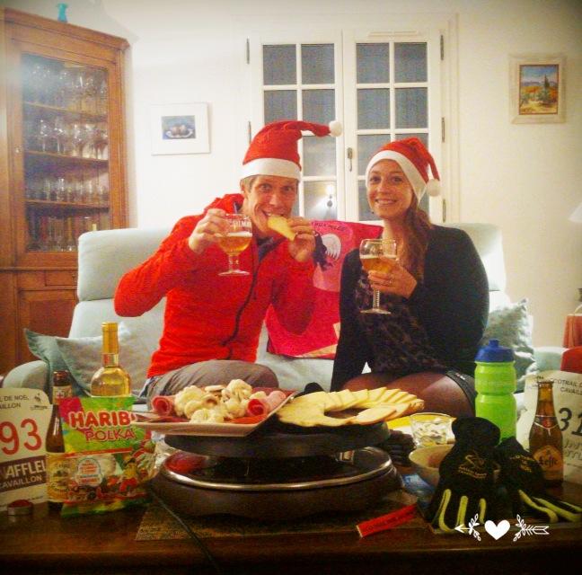 60-Et le soir on fête ça avec raclette-bières-Haribos..