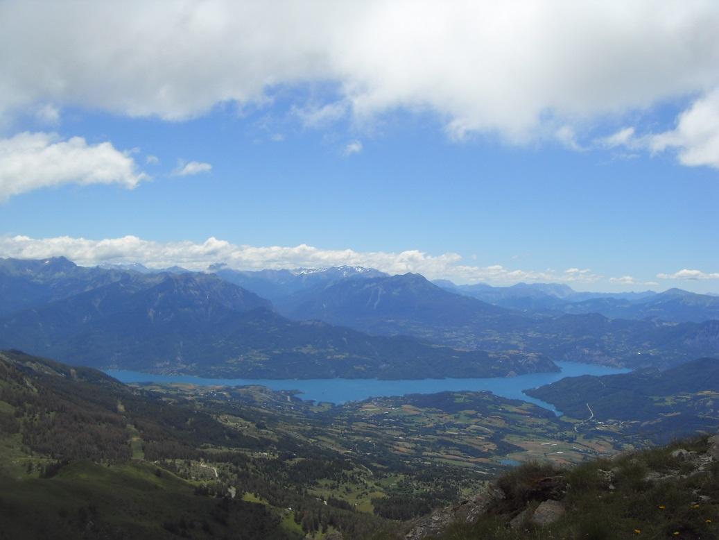 32-Vue sur le lac de Serre-Ponçon