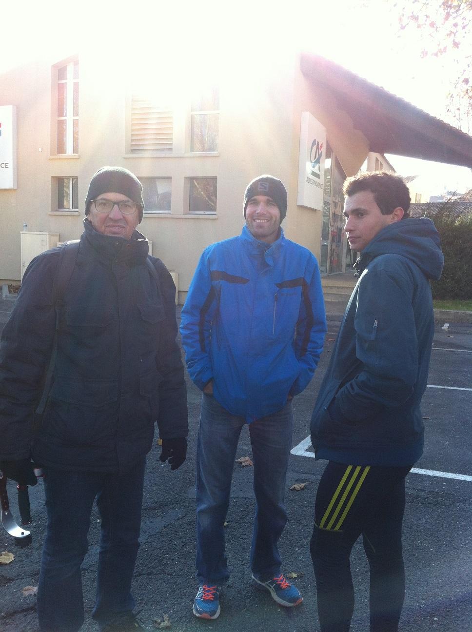 49-Luc (auteur d'un temps canon) et Hervé (auteur d'un filmage parfait) étaient là aussi..