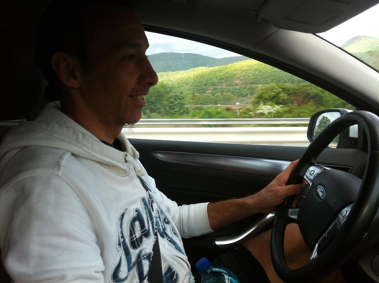 2-Seb' conduit la manade de 4 vers Sisteron