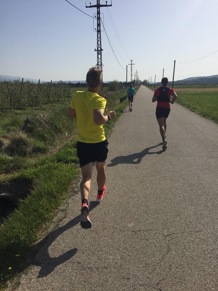 15-Christophe se joint à nous, pour le tout dernier km!
