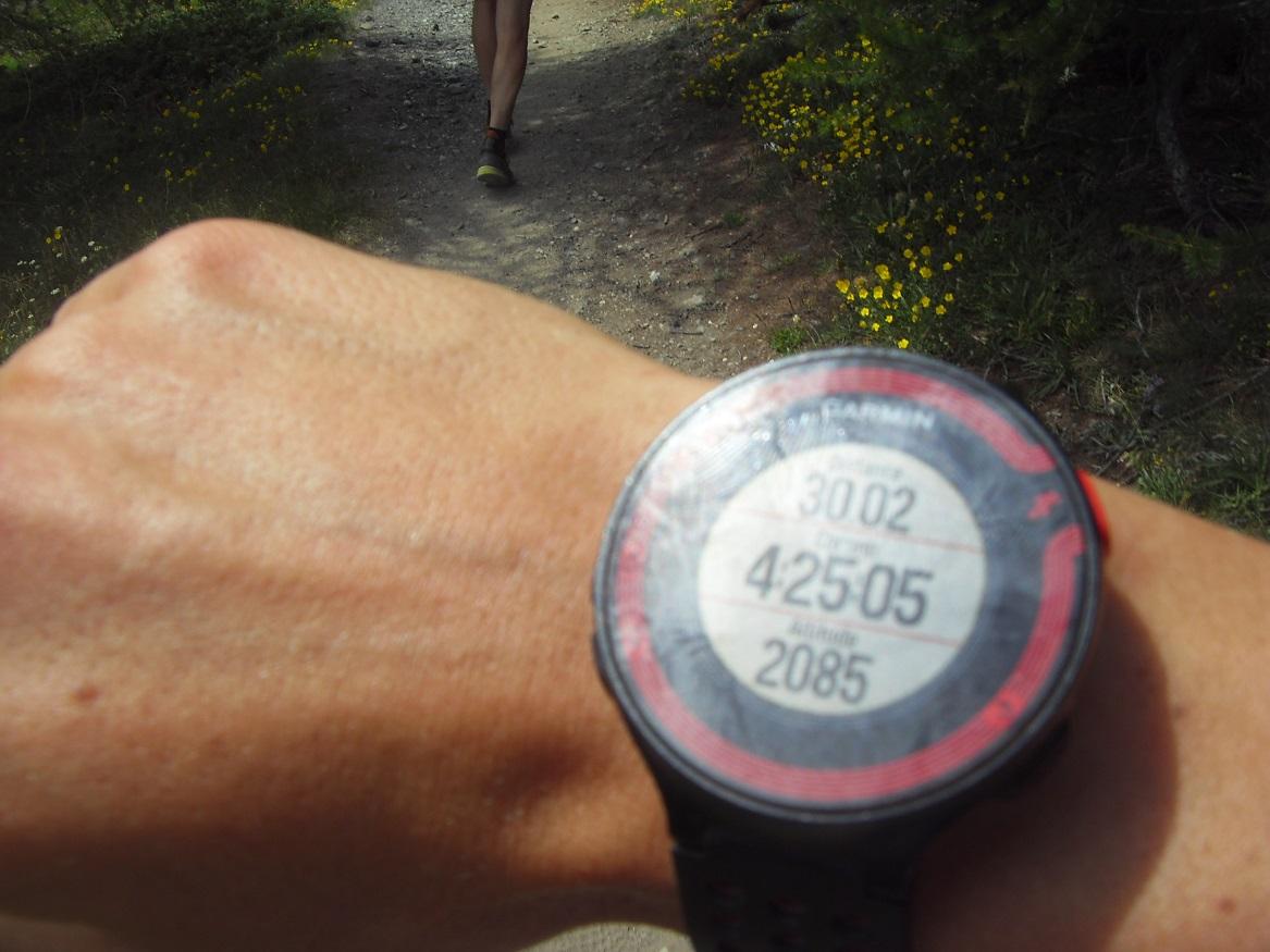 34- 30kms / 4h25 de course
