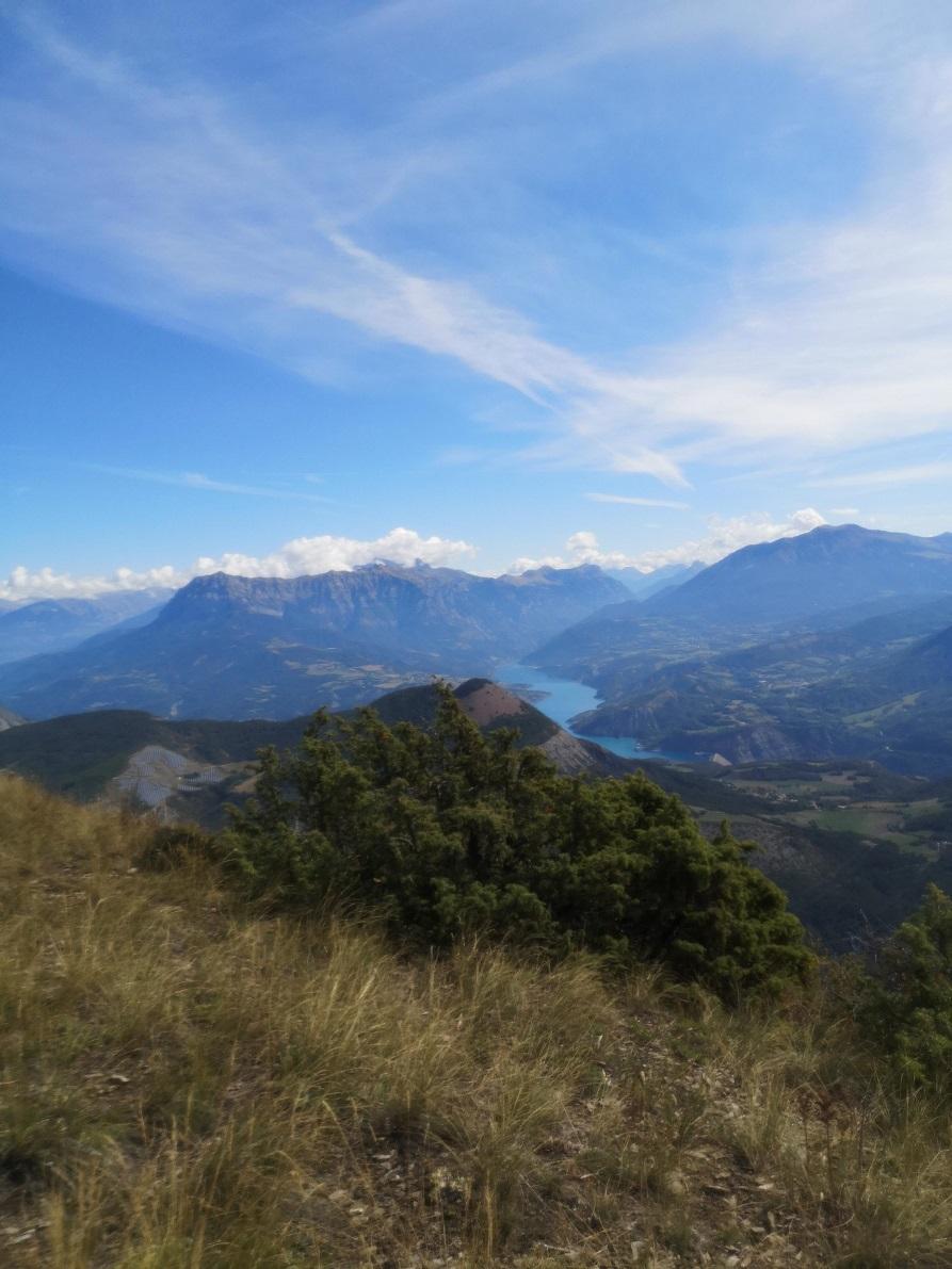 12-Superbe vue sur le grand lac de Serre-Ponçon