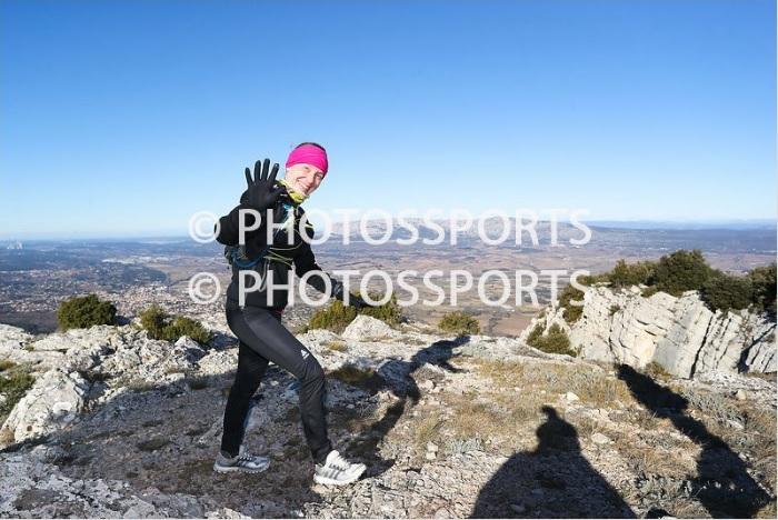 16-Agnès au sommet du Mont Olympe (km13, 1h58 de course)