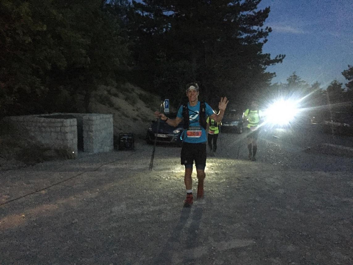 9- 1er ravito' après 8kms